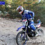 Wesley Pittens wint E2 klasse bij het ONK Enduro in Hellendoorn