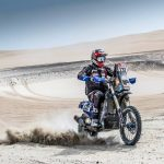 Wesley Pittens in de top dertig in derde etappe Dakar Rally
