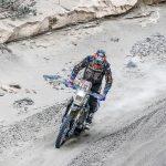 Wesley Pittens slaat zich goed door eerste dag van de marathonetappe in de Dakar Rally
