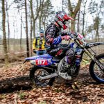 Wesley Pittens mist nipt het podium in ONk enduro in Holten
